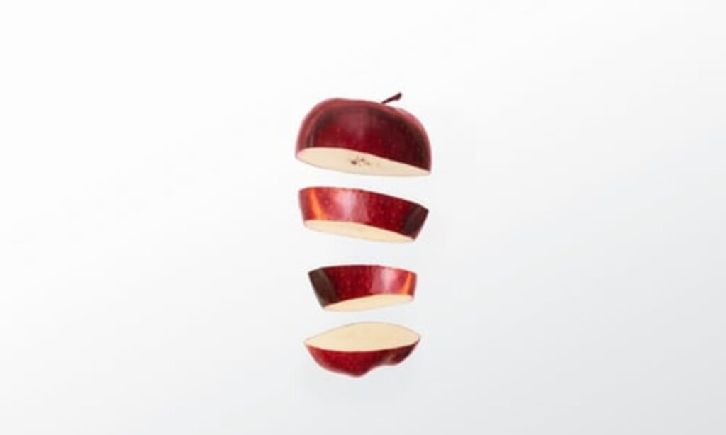 cropped apple