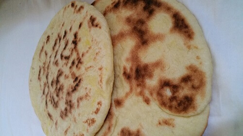 Baked Moroccan Pita Bread Batbout