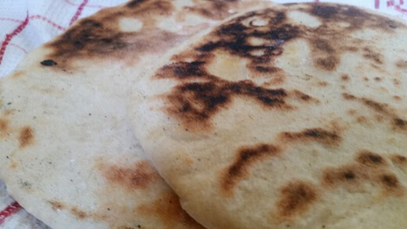 How To Make Batbout, The Moroccan Pita Bread (Moroccan Skillet Flatbread)