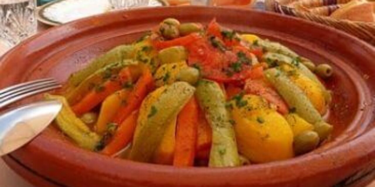 The Original Moroccan Chicken Tagine With Vegetables