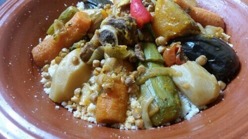 How To Prepare The Authentic Moroccan Food, Couscous