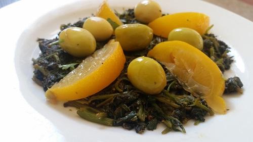 Moroccan Mallow Salad