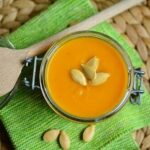 Onion and Red Squash Soup Flavoured With Saffron, Comforting Moroccan Food!