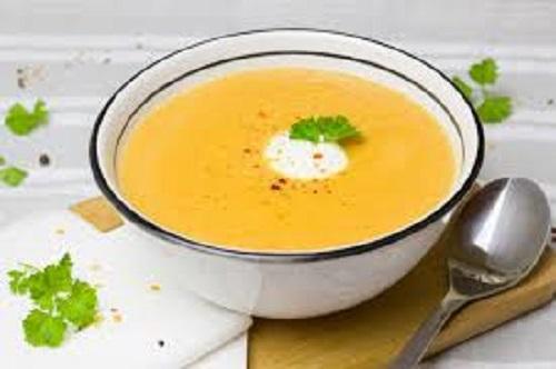Bowl of Onion Squash Soup