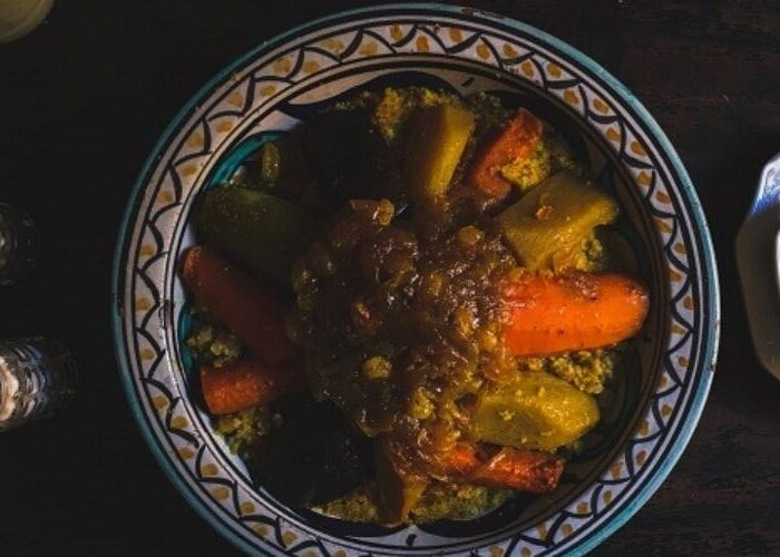 The Famous Moroccan Vegetable Tagine (Vegetarian Tagine)